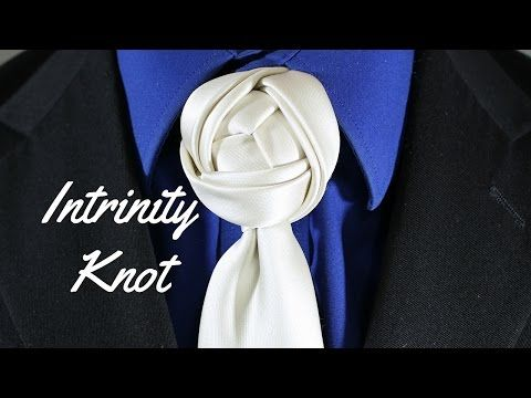 How to tie a tie intrinity knot youtube video co pinterest how to tie the eldredge knot step by step instructions ccuart Choice Image