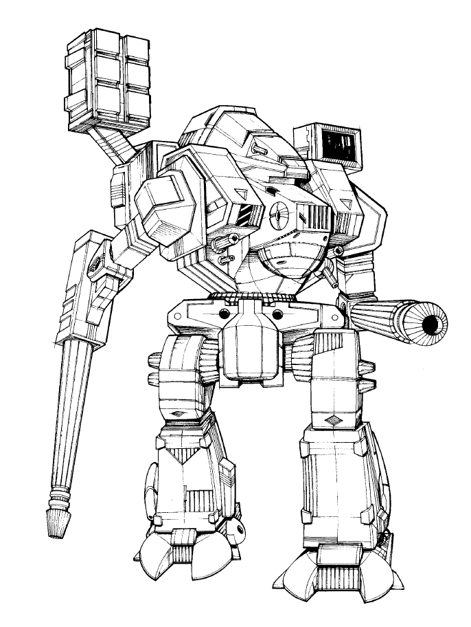10 Catapult Views In Mechwarrior Online Bugs Bunny Drawing Coloring Books Bunny Drawing