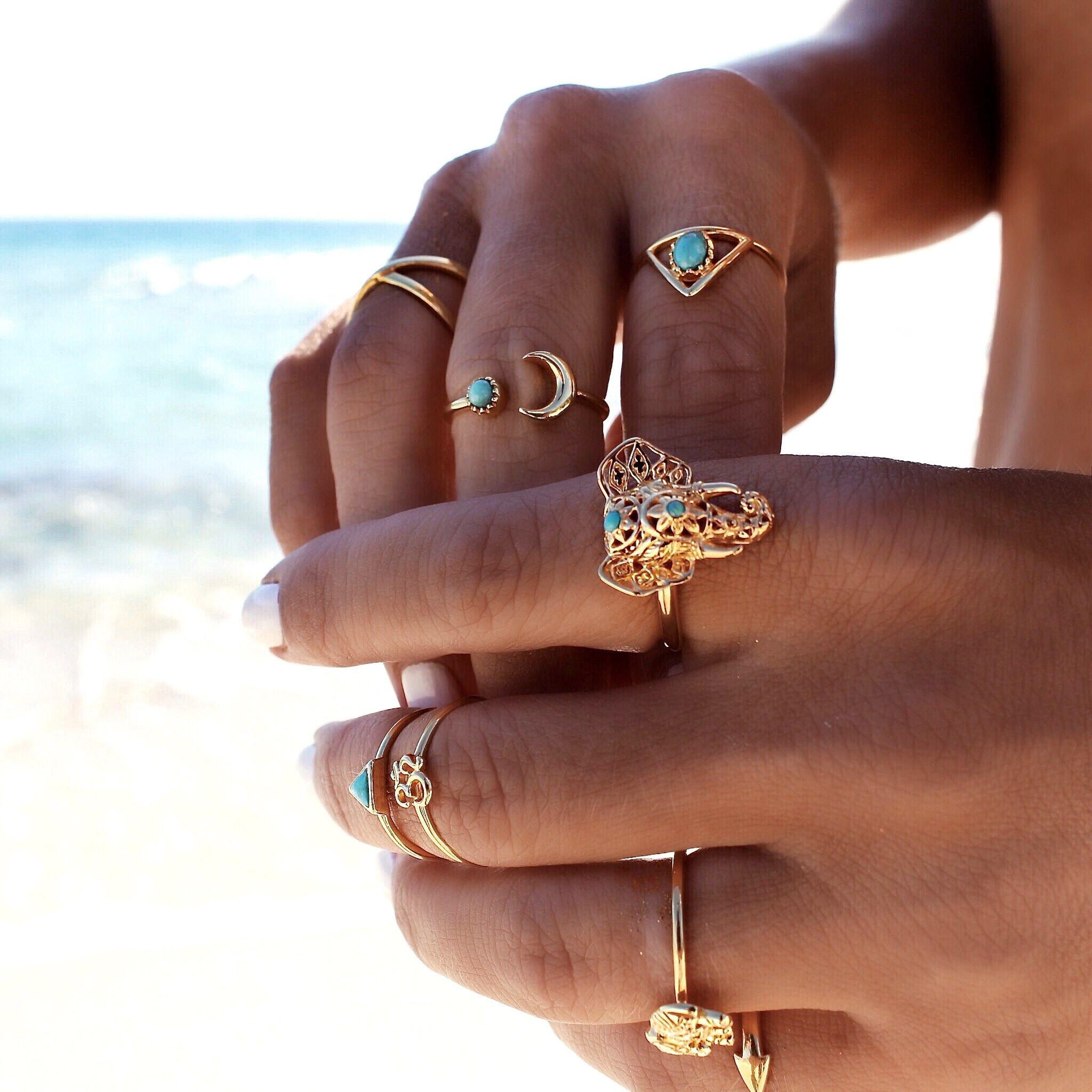 Gypsylovinlight , colección de joyas