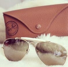 9fb3bd61d3 RAYBAN Aviator sunglasses Aviator sunglasses in brown (Large Version) Ray- Ban Accessories Glasses. AWESOME