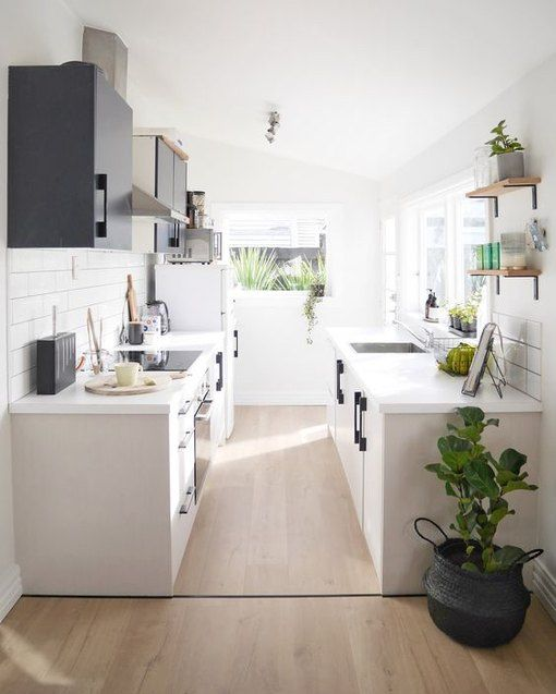 11 Galley Kitchen Redesign Ideas That Are Full of Flavor | Hunker