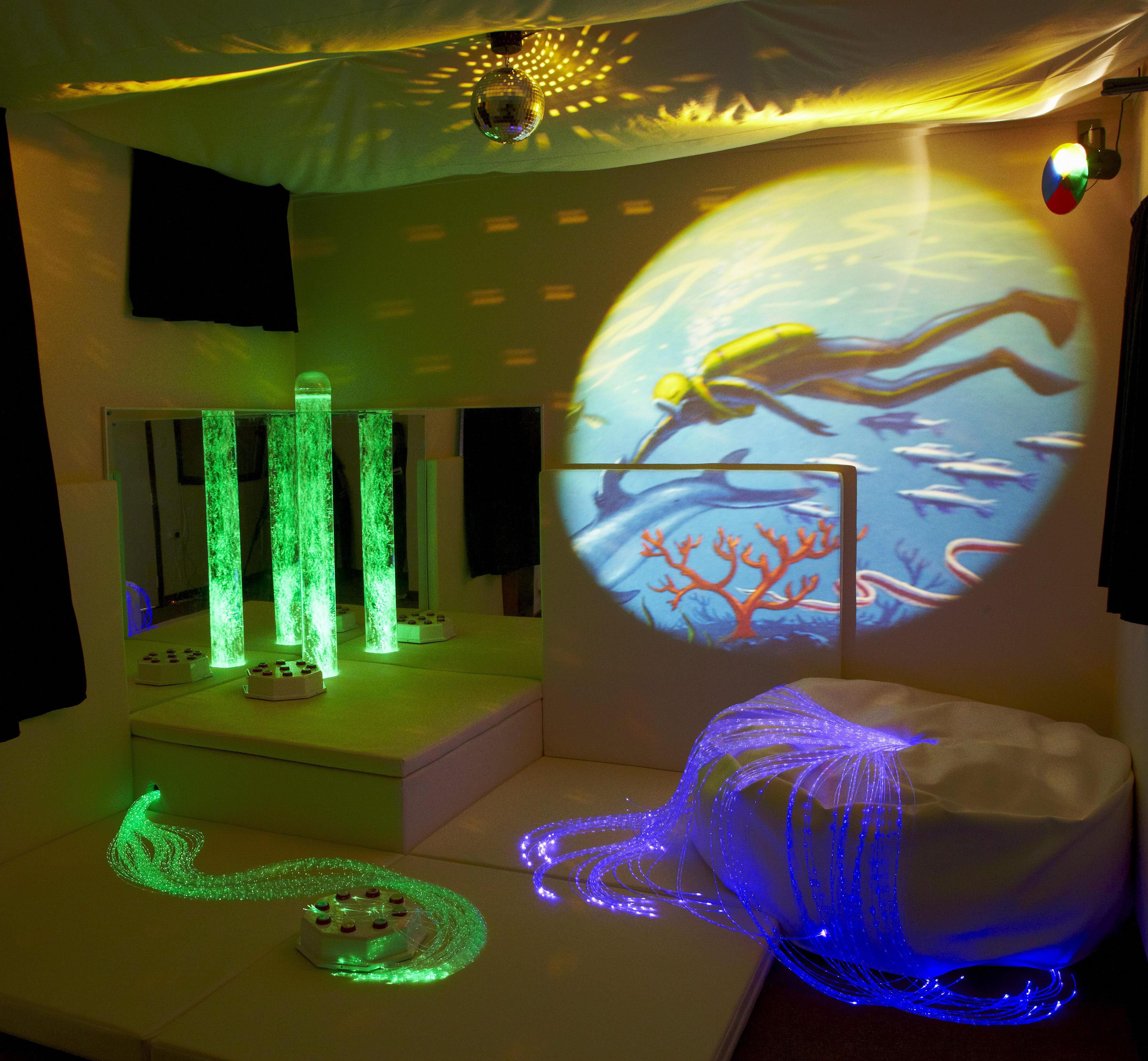 Different Types of Sensory Room Environments Daycare