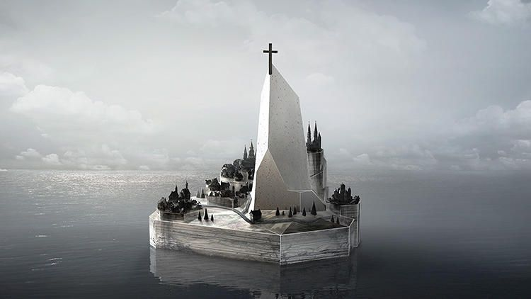 Artist Imagines What Phantom Islands Might Look Like | Co.Design | business + design