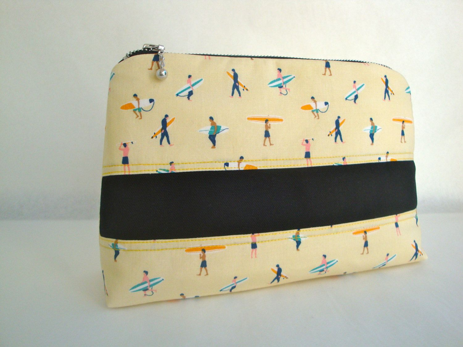 563e861127 Mens funky cotton Wash Bag - handmade - toiletry bag - gift- surfing wash  bag - unique mens wash bag by GerdaBags on Etsy