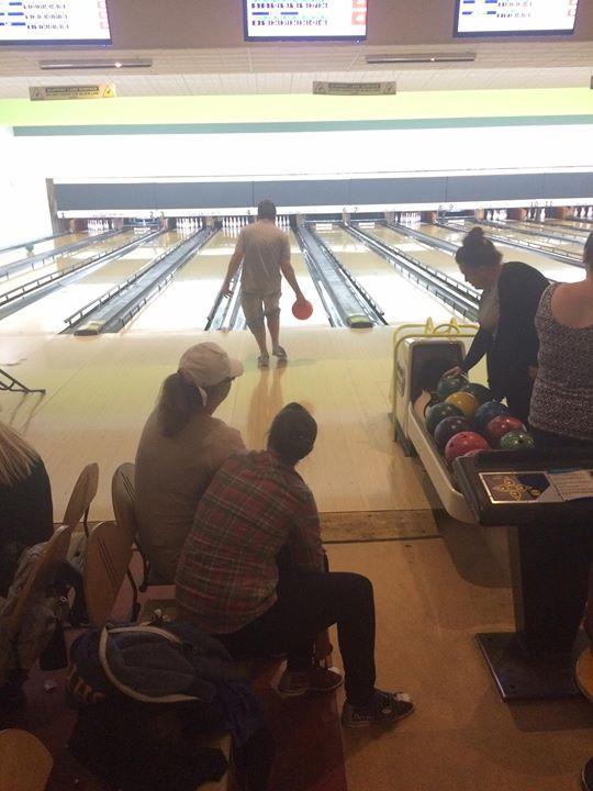 Currently watching the crazy crew bowling.....looking forward to being able to actually pick up a ball myself once my backs better.