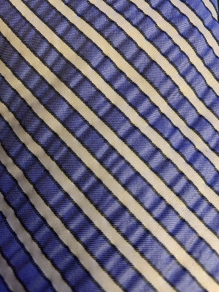 4748664e4440 Men Brooks Brothers Makers Blues White Striped Tie Seersucker # BrooksBrothers #Tie