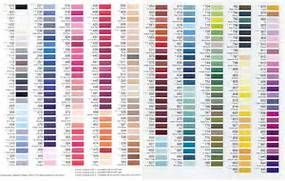 gutermann thread color chart arrange by color pinterest - Gutermann Thread Color Chart