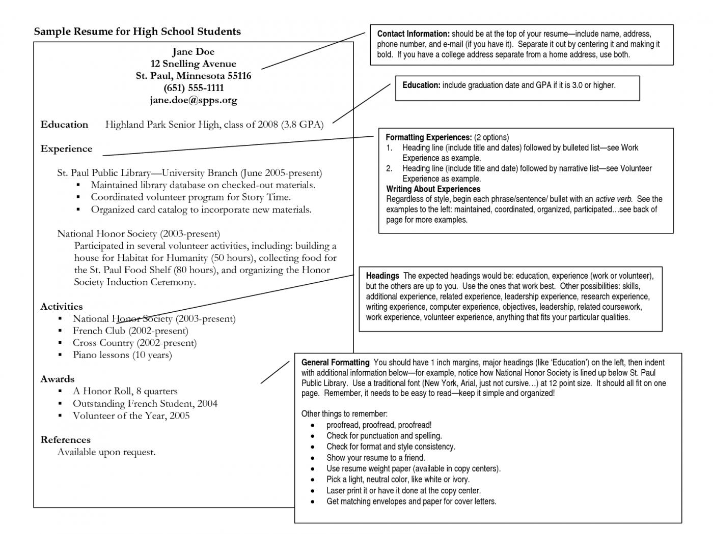 Resume Format Options Resume Format Pinterest Resume Format