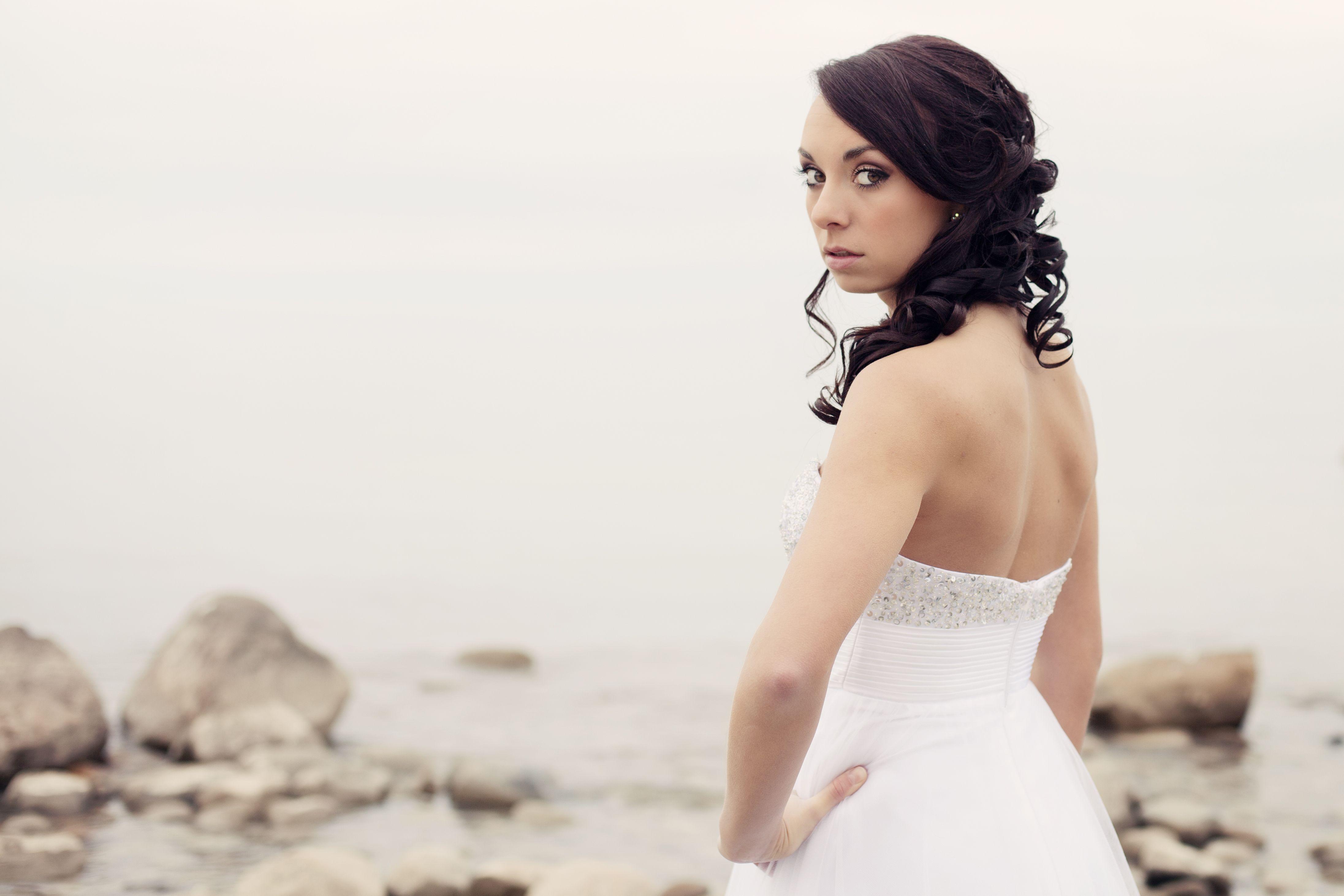 Hair by: Megan Ganley @ HG Salon  Make up by: Ashleigh Bolt @HG Salon  Photography by: Dani Lynn Photography, Croswell MI