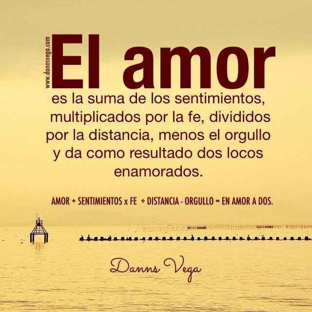 Formula Para Los Locos Enamorados Amor Amor Pinterest Love