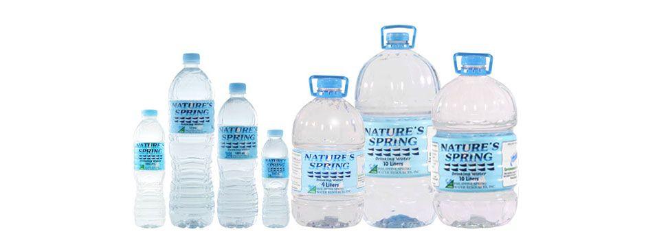 Nature S Spring Water Bottle Dasani Bottle Water Bottle