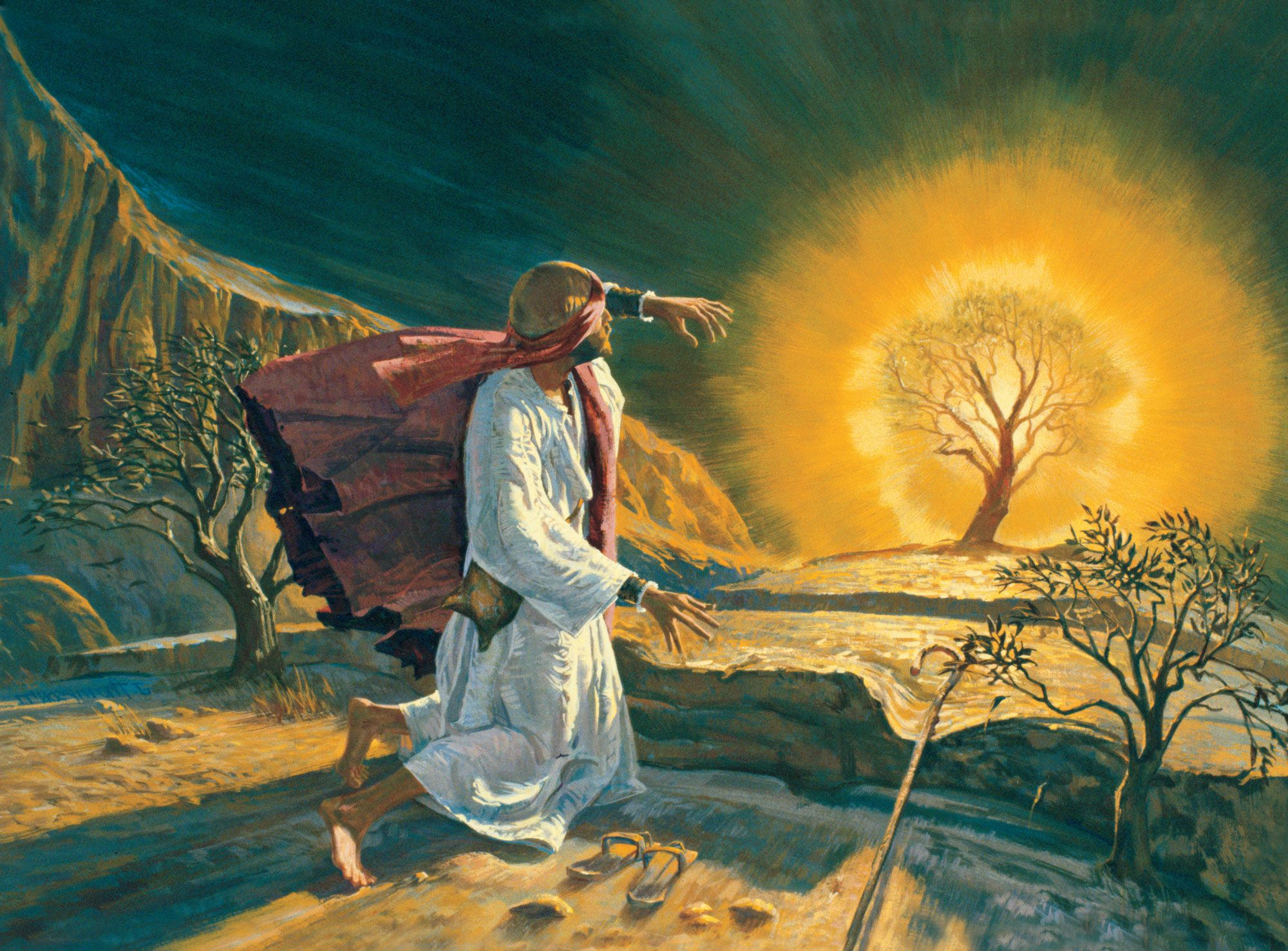moses and burning bush - Google Search | Bible-OT ...
