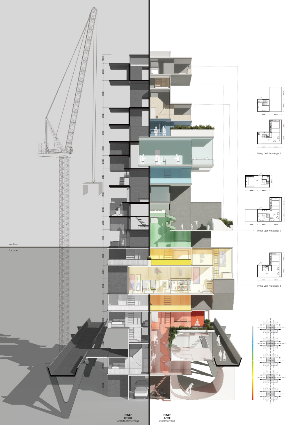 Lianjie Wu Designs Affordable Homes That Are Deliberately Left Unfinished Affordable Housing House Cost Architecture