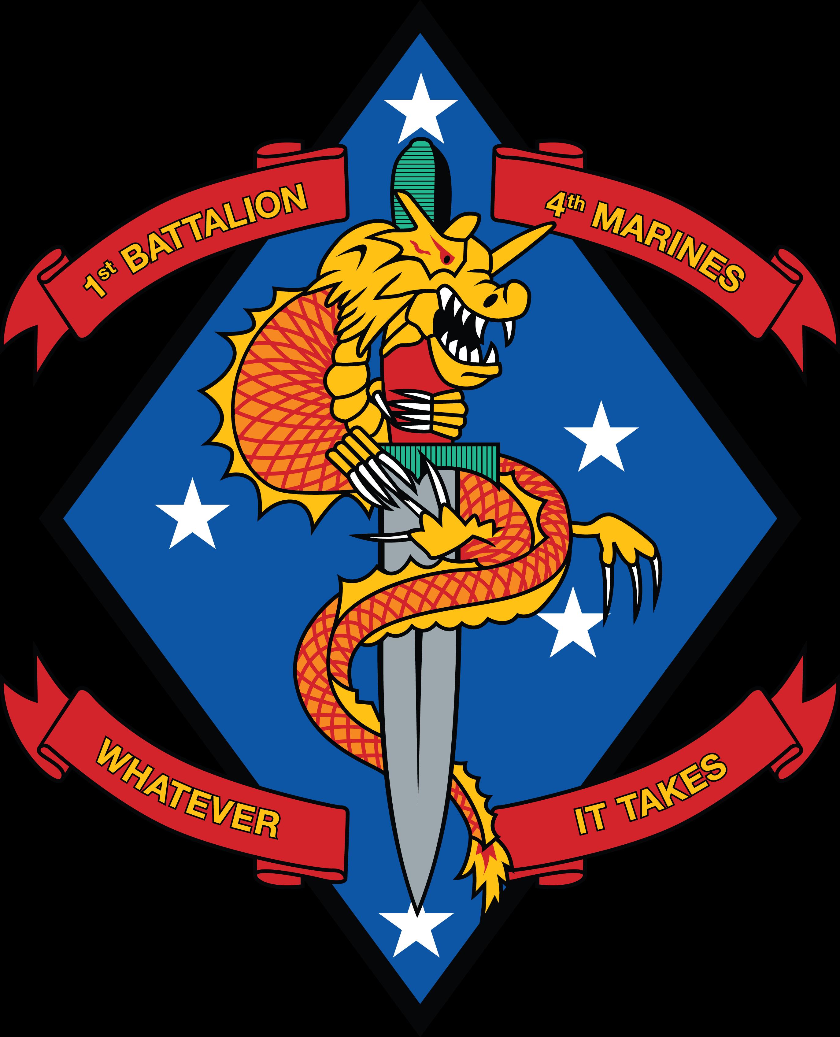 1st Battalion 4th Marine Regiment Of United States Mariners Corps