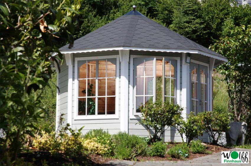 pavillon wolff capri 3.5 - 8-eck-holz-pavillon - ein romantisches, Hause deko