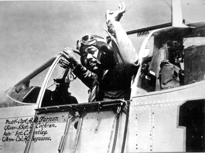 African American pilot