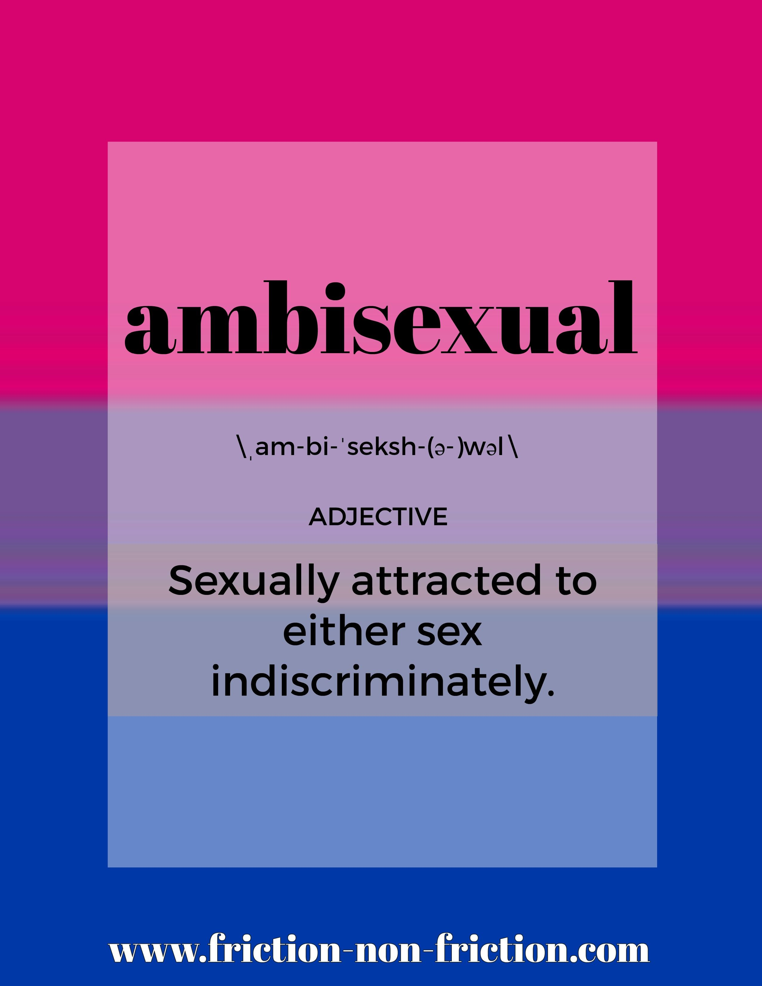 Ambisexuality meaning