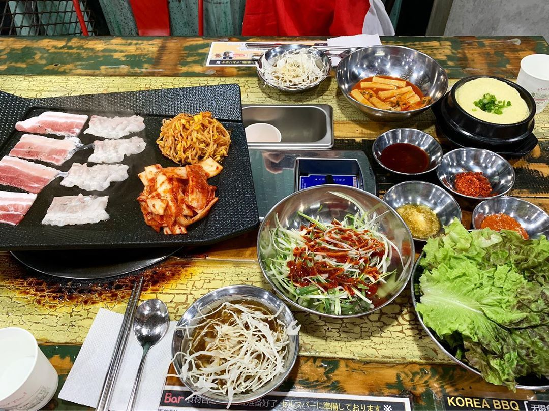 All-you-can-eat Korean BBQ.