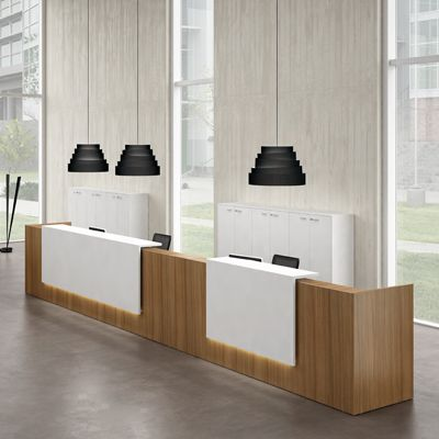 Contemporary Modern Office Furniture Reception Desk Desks And 3781227888  With Ideas