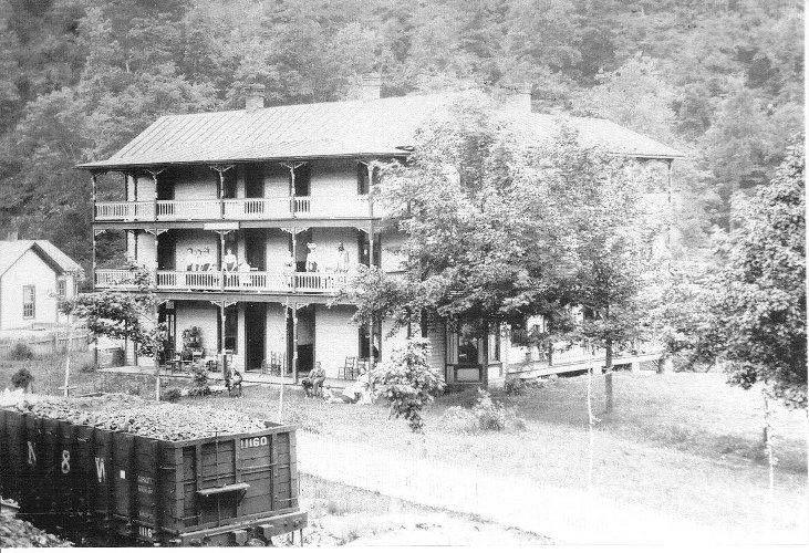 Cedar Bluff Hotel Tazewell County Virginia The Early In