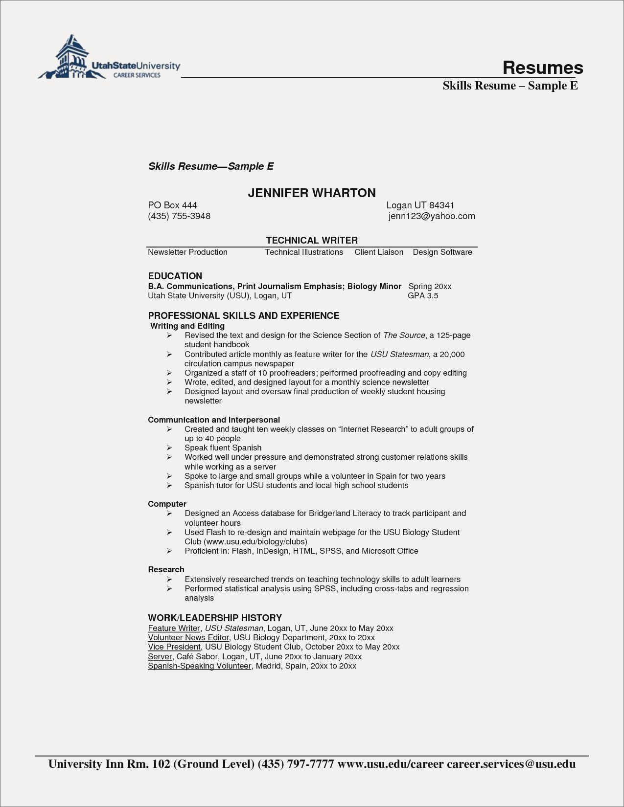 Include Gpa On Resume Resume Examples for High School
