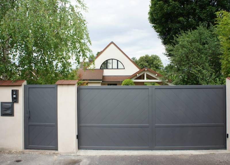 Epingle Sur Portail En Aluminium Design Inspirations Et Idees