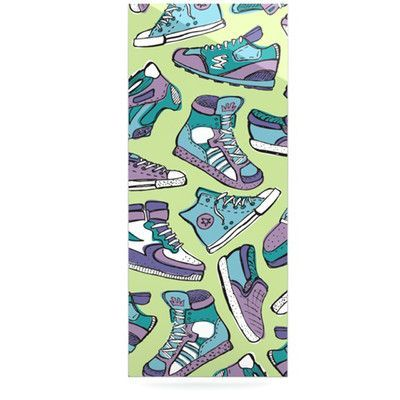 "KESS InHouse Sneaker Lover IV by Brienne Jepkema Graphic Art Plaque Size: 20"" H x 16"" W"