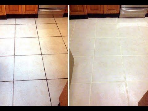 Como limpiar un piso sucio incre ble truco con solo bicarbonato y un jab n blanqueador - Como quitar rayones del piso vinilico ...