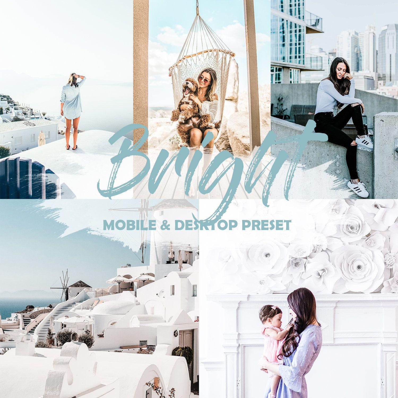 Mobile Lightroom Presets Instagram Presets Blue Snow Preset Blogger Presets