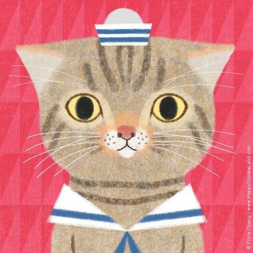 ilustración de Flora Chang