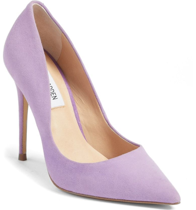 880d01fb9bb Steve Madden Daisie Pointy-Toe Pump, Main, color, Lavender Suede ...