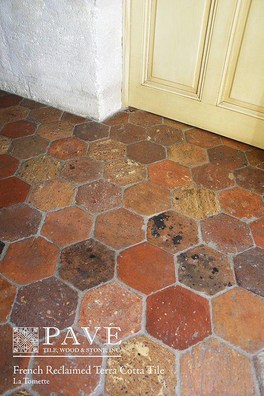 Pavé Tile, Wood & Stone, Inc. > European Terra Cotta Tile Flooring ...