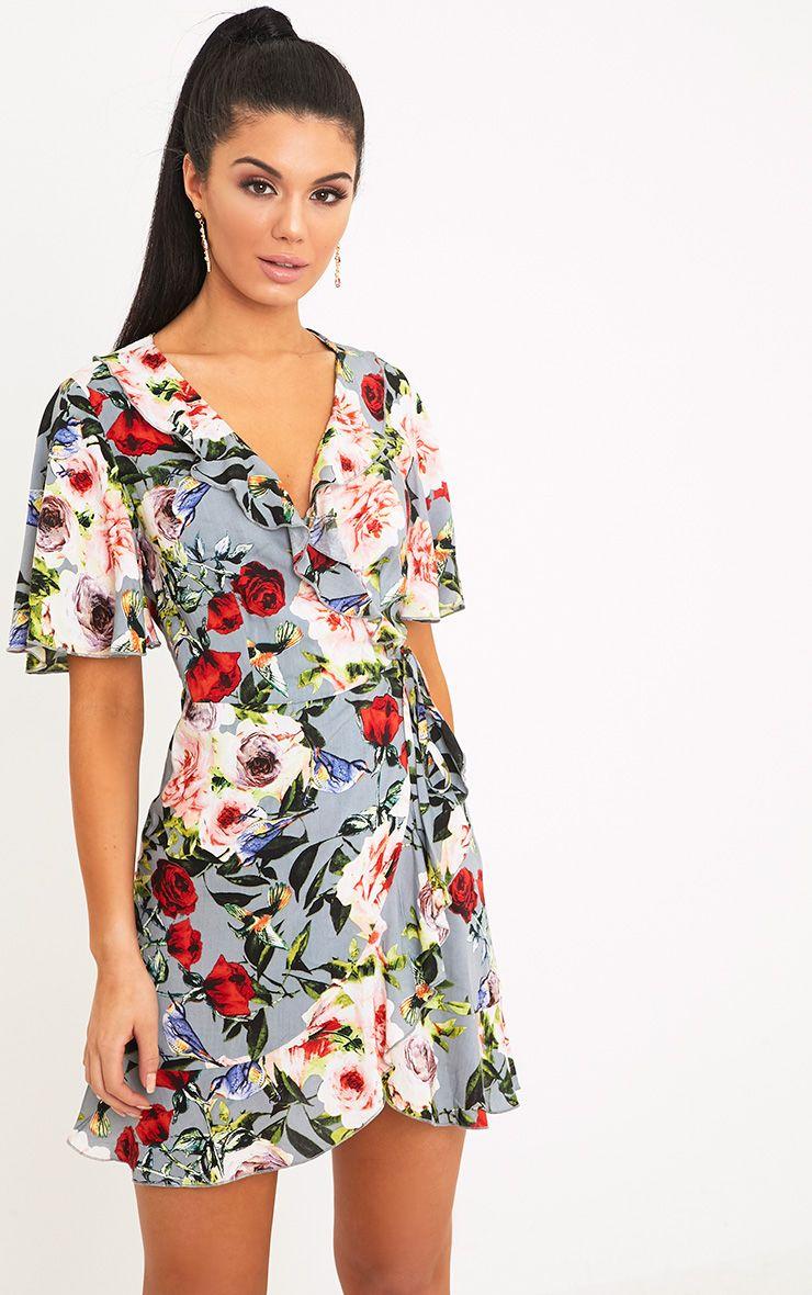 32+ Floral wrap dress info