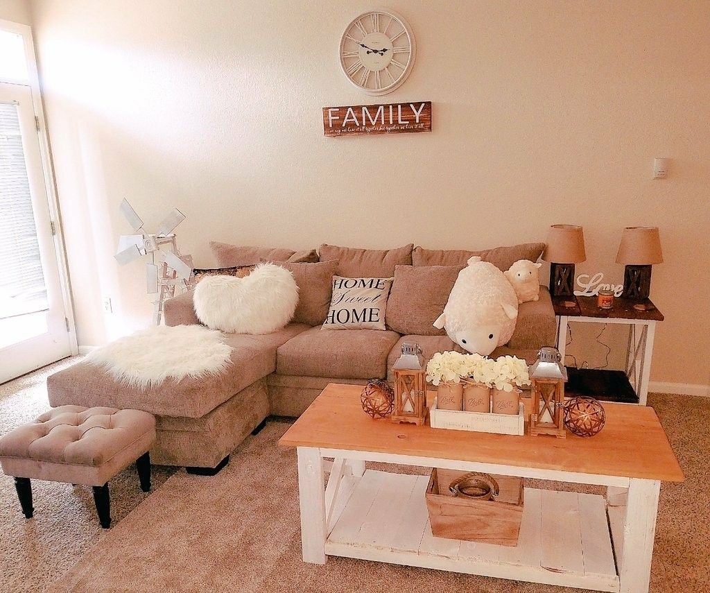 My Finished Living Room Thank You Pinterest For All Of The Amazing Ideas College Apartment Living Room Living Room Remodel First Apartment Decorating