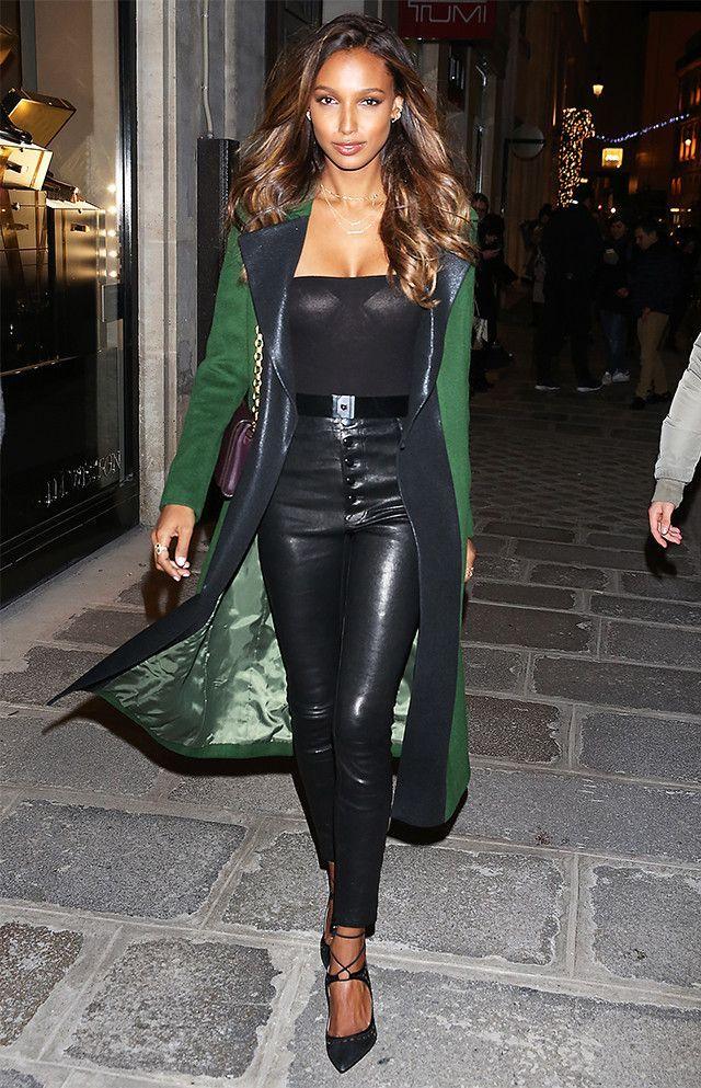 02b650904eeb6c The Pants Every Victoria's Secret Model Was Wearing in Paris via  @WhoWhatWearUK