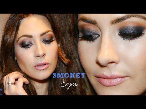 Tutorial Maquillaje Ojos Ahumados Fácil! ♥ Smokey Eyes! - YouTube