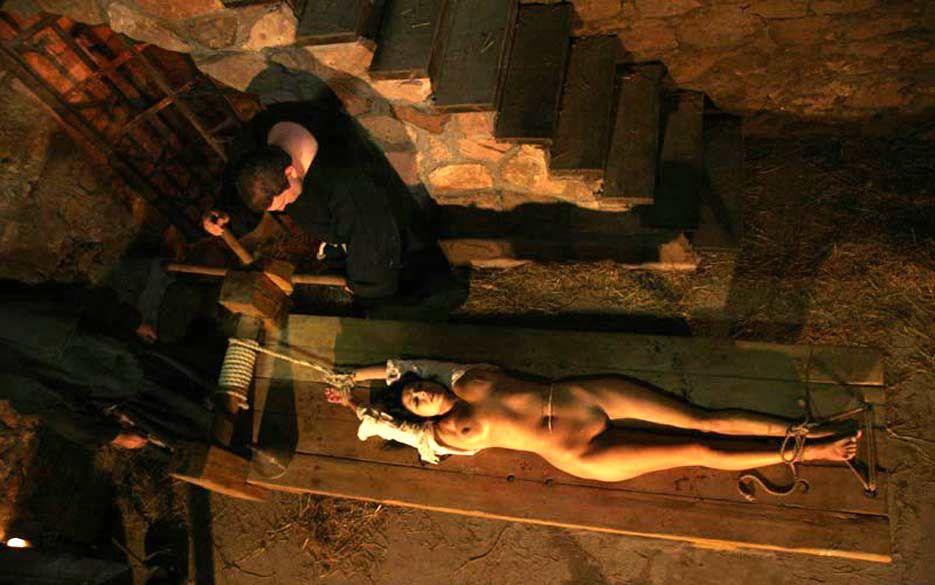 Torture inquisition nude women