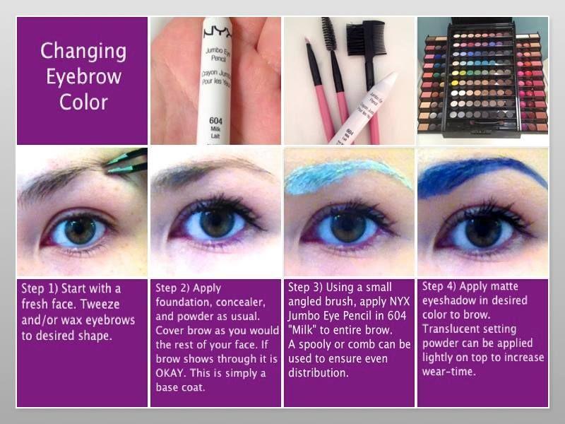 Eyebrow Tutorial | How to color eyebrows, Eyebrows, Nyx ...