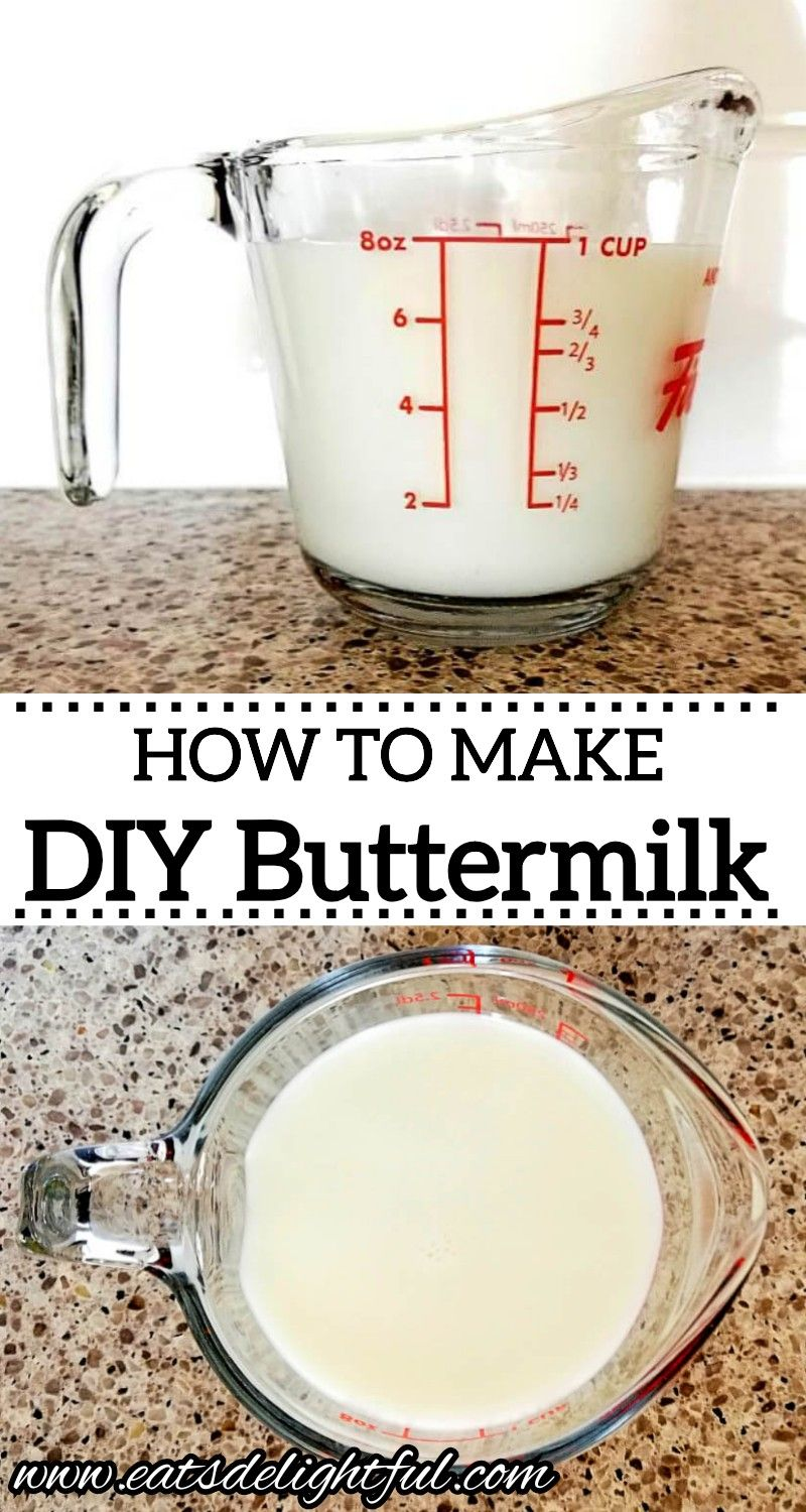 How To Make Buttermilk From Milk In 2020 How To Make Buttermilk Homemade Buttermilk Buttermilk Substitute
