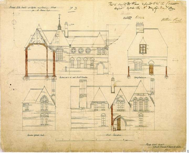 Architecture Houses Drawings