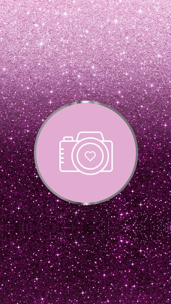 125 Glittery purple Instagram Highlights Icons Instagram