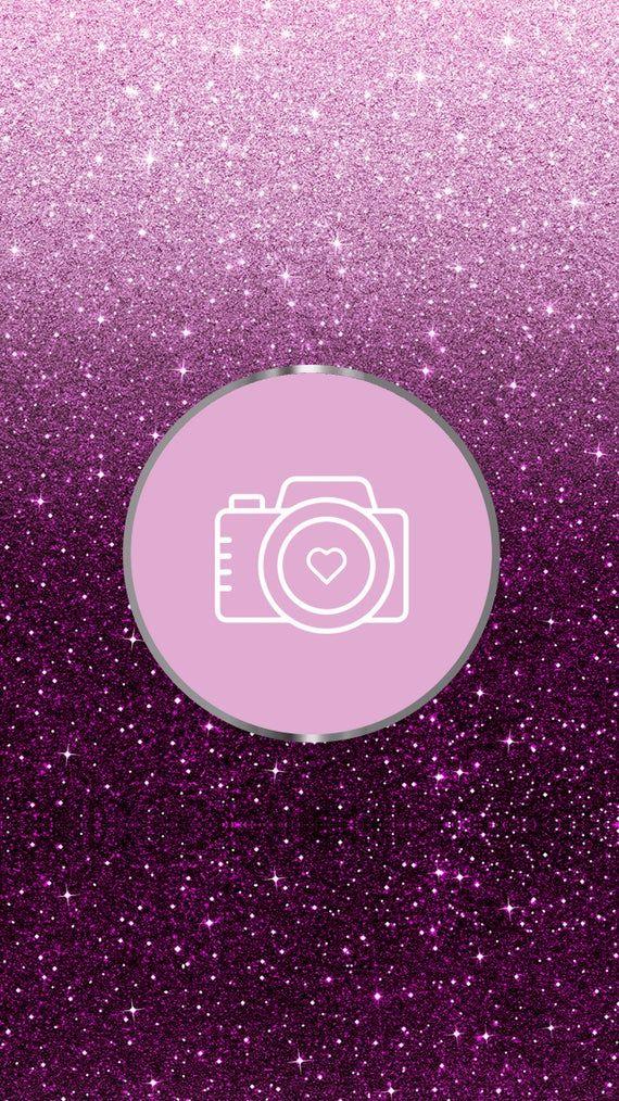 Whatsapp Icon Aesthetic Purple