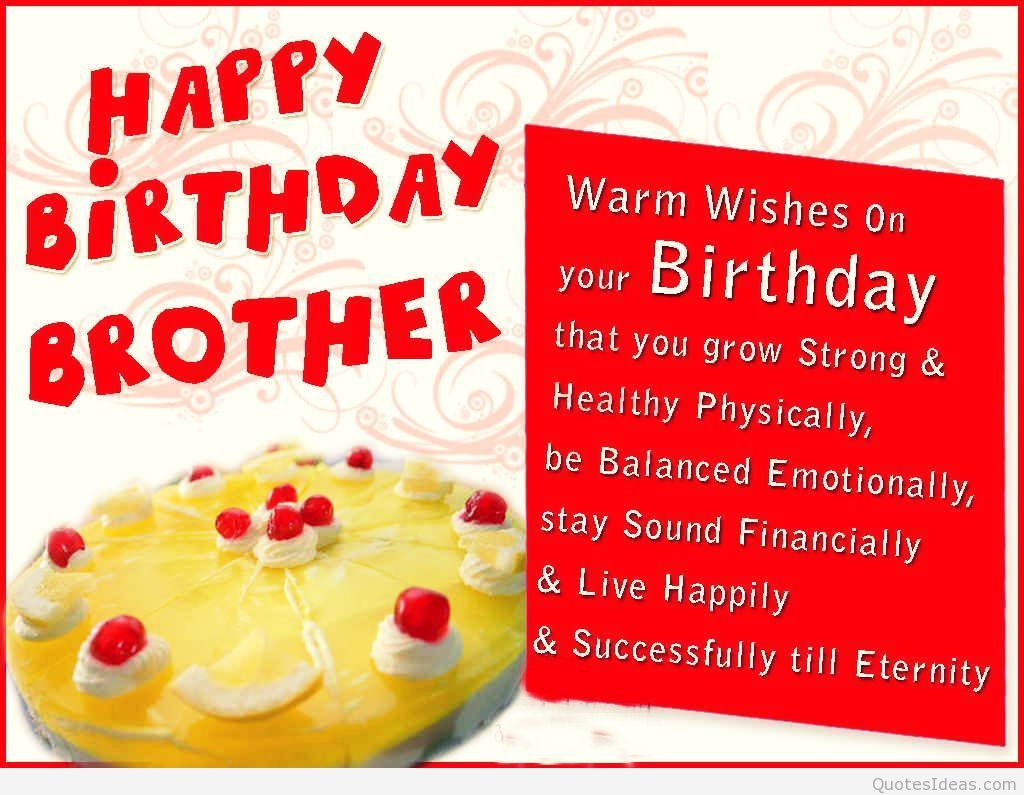 Top 30 Images Happy Birthday Wishes For Brother Really Good Life Quotes Happy Birthday Brother Birthday Wishes For Brother Happy Birthday Brother Quotes