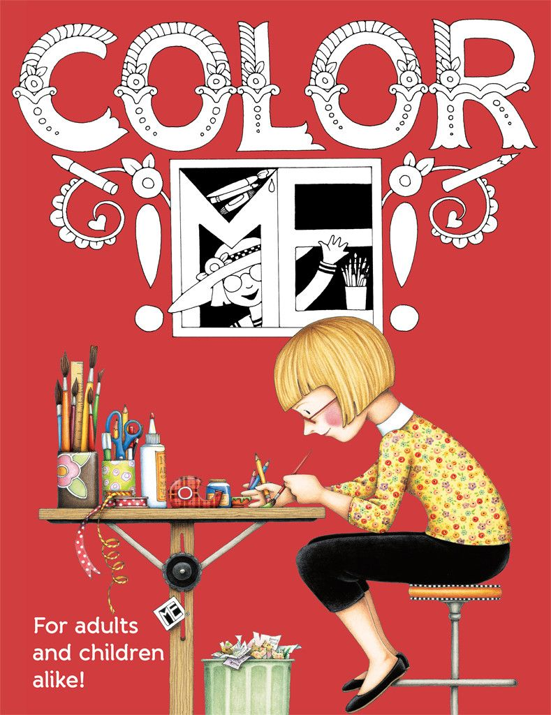Color book for me - Color Me Coloring Book Mary Engelbreit Studios
