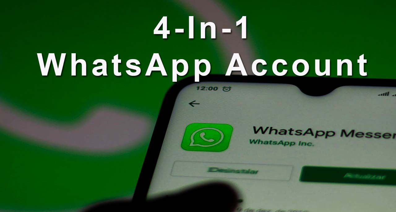 How to run one whatsapp account in four mobiles know this