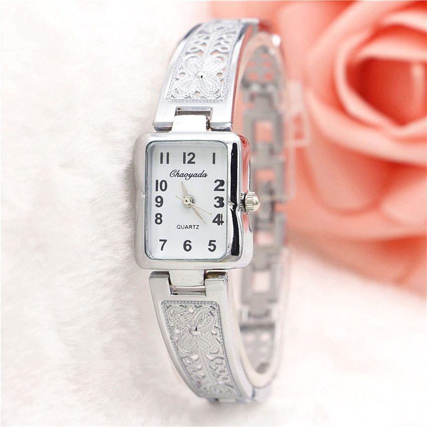 $2.99 (Buy here: http://appdeal.ru/7keu ) 2016 Dress Wristwatch Women Watches Relogio Feminino Fashion Clock Women Quartz Watch for Girls Gold Bracelet Watch montre femme for just $2.99