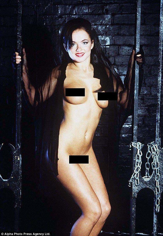 Geri Horners Pre-Fame Naked Glamour Shots Resurface -6432