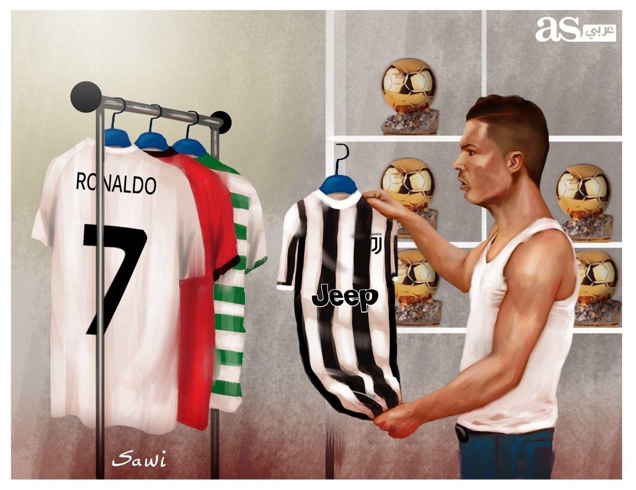 هل يضم كريستيانو رونالدو قميص يوفنتوس إلى قائمة قمصانه الملعب بين يديك