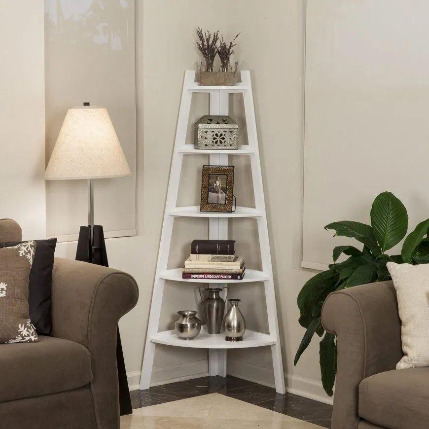 37 Amazing Corner Shelf Decorating Ideas To Beautify Your Corners Dekorasi Apartemen Dekorasi Ruang Tamu Kamar Dekor