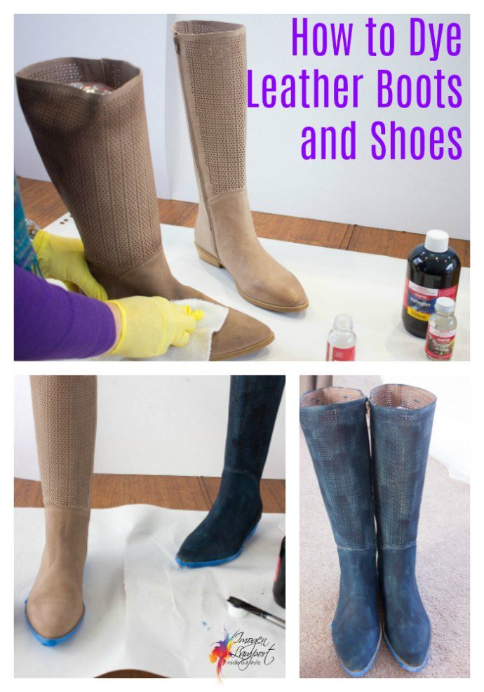 How to Dye Leather Shoes | Leather shoes, Leather and Shoe refashion